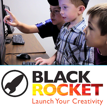 decorative image of black-rocket2 , Pensacola State Kids College Home 2020-06-15 12:59:16